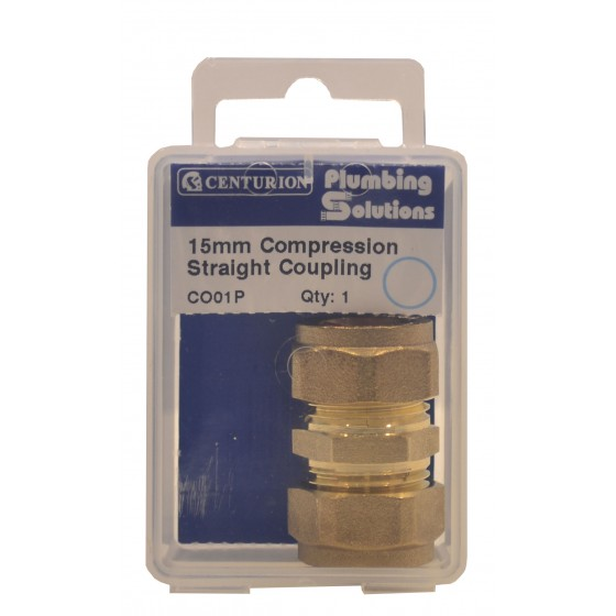 Plumbing Solutions Pipe Connectors Compression Straight ...