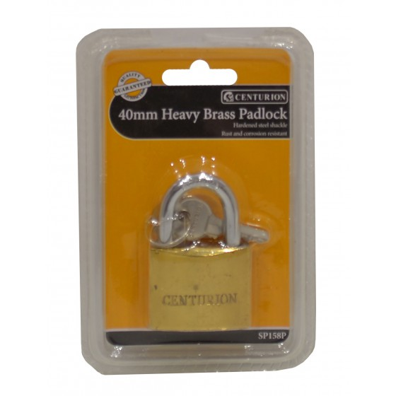 40mm Heavy Brass Padlock
