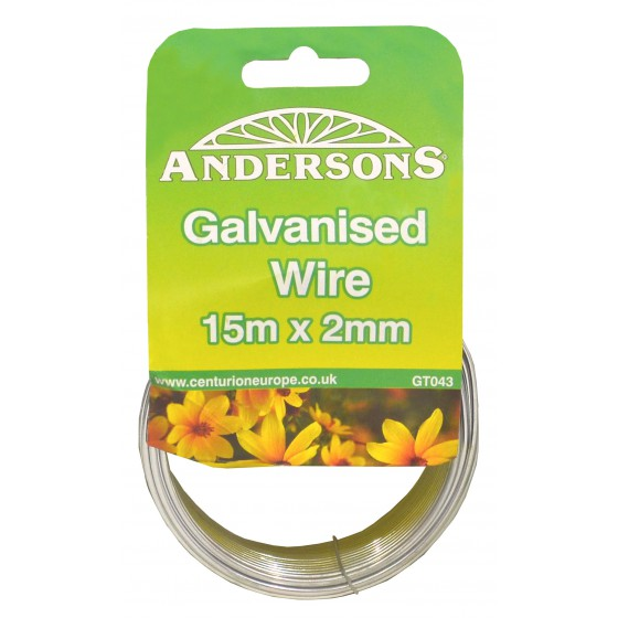 15m x 2mm Galvanised Wire