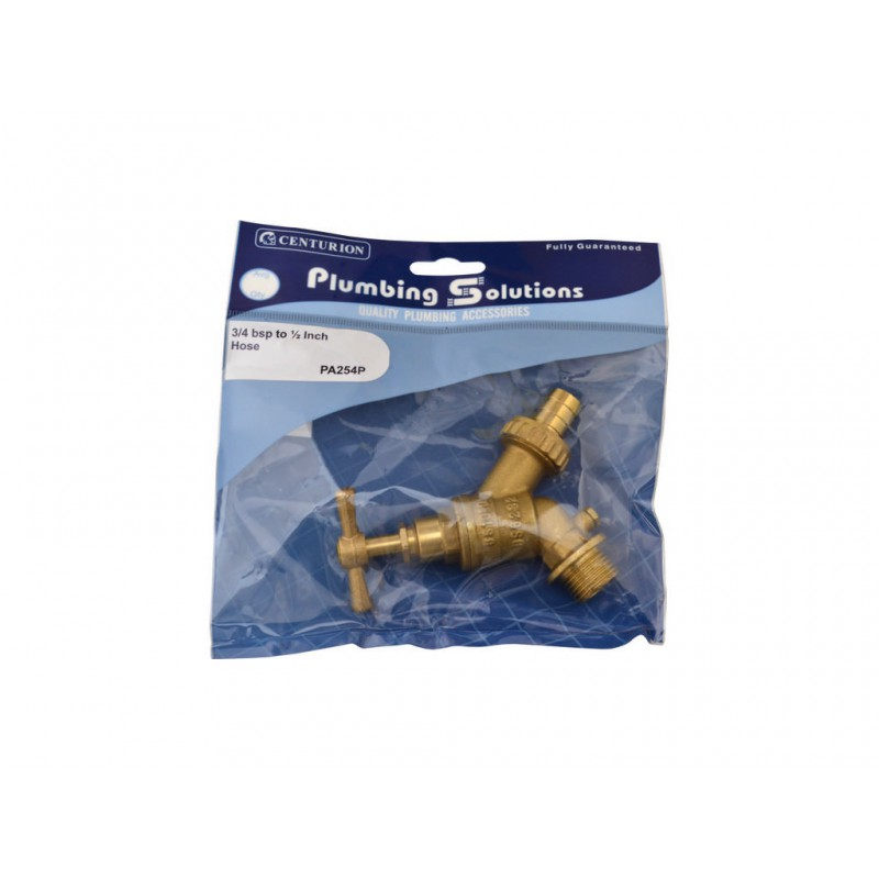 Centurion Europe Garden Hose Tap with Double Check Valve Hose