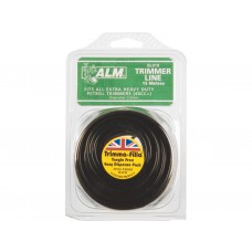 SL019 ALM 3.5mm x 15m Black Trimmer Line