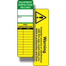 Universal Inspection Tag Insert (Pack of 10)