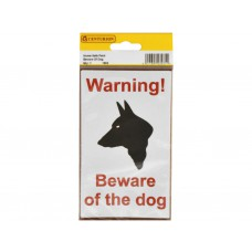 89mm x 150mm Home Safe Pack 'Warning Beware Of...' (Pack of 2)