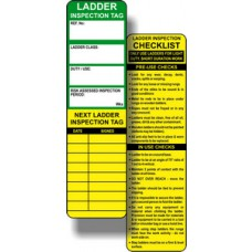 Ladder Safety Tag Inserts (Pack of 10)