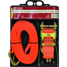 Heavy Duty Ratchet Tie Down - 50mm x 8m