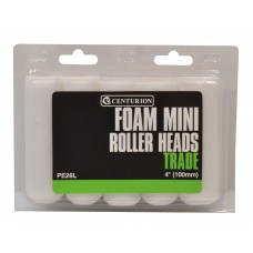 "100mm (4"") Foam Roller Heads **Please note quantity is Indiv Roller Heads"