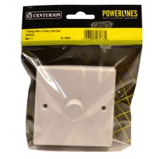 1 Gang 400W 2 way Dimmer Switch