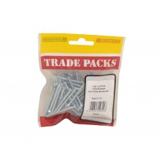 "1 3/4"" x 6 ZP Pozi Twinthread C/Sunk Woodscrews Trade Packs (pack of 70)"