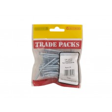 "1 3/4"" x 8 ZP Pozi Twinthread C/Sunk Woodscrews Trade Packs (pack of 50)"