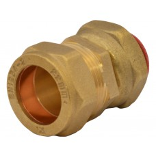 "15mm x 1/2"" BSP Compression Straight Tap Connector"