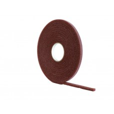 15m Brown Extra Wide PVC Foam Draught Excluder