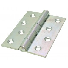 "100mm (4"") ZP 451 Pattern Strong Steel Butt Hinges (1 pair)"