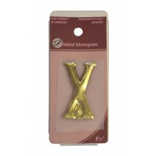 "1 1/2"" Gold Effect Letter X"