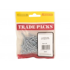 "1"" x 6 ZP Pan Head Self Tapping Screws  (Pack of 60)"