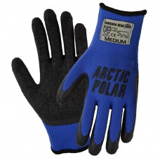 Medium  Polar Gloves  (blue)