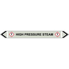 Flow Marker - High Pressure Steam (Grey - 5 pack)