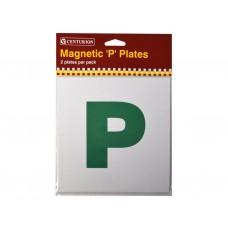 Magnetic P Car Learner Plates  (2 PK)