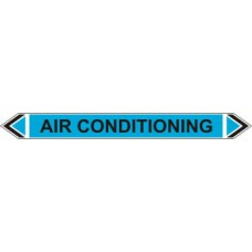 Flow Marker - Air Conditioning (Light Blue - 5 pack)