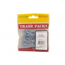 "1 1/4"" x 7 ZP Pozi Twinthread C/Sunk Woodscrews Trade Packs (pack of 70)"