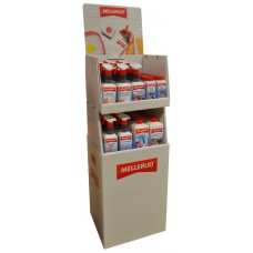 Mellerud - Cleaning Solutions - Cardboard Merchandiser