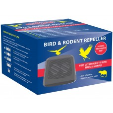 'Pest Clear' Ultrasonic Bird / Rodent Repeller