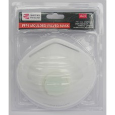 *TEMP OUT OF STOCK* FFP1 Moulded Valve Dust Mask 3pk