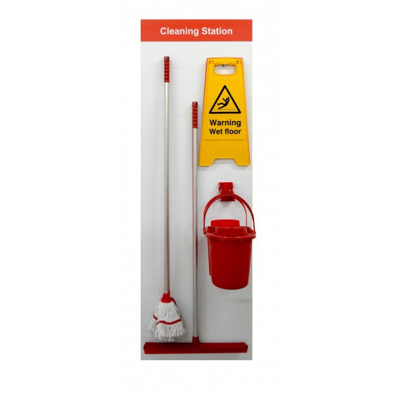 Shadowboard - Cleaning Station Style C (Red)