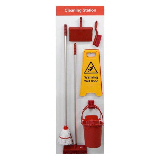 Shadowboard - Cleaning Station Style B (Red)