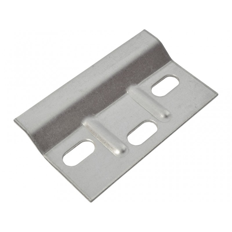 685 X 38mm BZP Ribbed Wall Plate