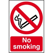 No smoking - SAV (100 x 150mm)