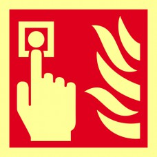 Fire alarm symbol - PHS (100 x 100mm)