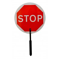 Stop / Go Paddle Signs