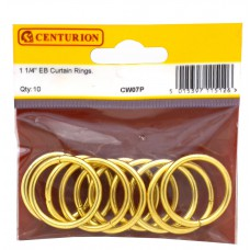 32mm EB Curtain Rings (Pack of 10)