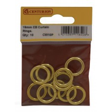 19mm EB Curtain Rings (Pack of 10)