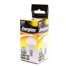 Energizer - LED Bulb - Golf 3.5W 250LM Opal E14 Warm White