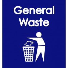 Warehouse Recycling Sack 'General Waste' - (920 x 1000mm)