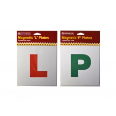 Magnetic L Car Learner Plates  (2 PK)