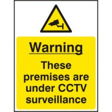 Warning These premises are under CCTV surveillance - RPVC (300 x 400mm)