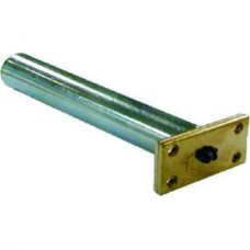 Nickel Plate Concealed Jamb Door Closer