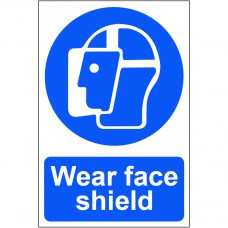 Wear face shield - PVC (200 x 300mm)