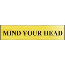 Mind your head - BRG (220 x 60mm)
