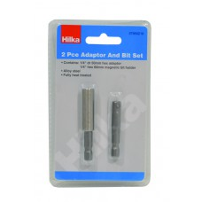 Hilka 2 pce Bit Holder Adaptor (37950210)