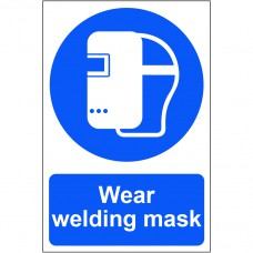 Wear welding mask - PVC (200 x 300mm)