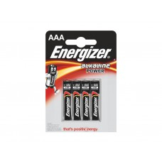 Energizer - Batteries - Power Alkaline - S8993 AAA  x 4
