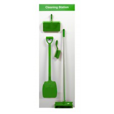 Shadowboard - Cleaning Station Style A (Green)