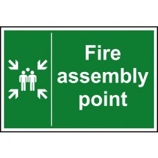 Fire assembly point - DIB (600 x 450mm)