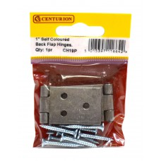 "25mm (1"") SC Steel Backflap Hinge (1 pair)"