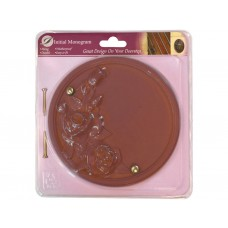 Dusky Pink Effect Rose Plaque