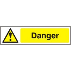 Danger - PVC (200 x 50mm)