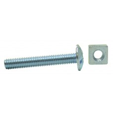 M6 x 40mm ZP Roofing Bolts